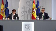 Especial informativo - Comparecencia de los ministros de Sanidad y de Interior - 09/10/20