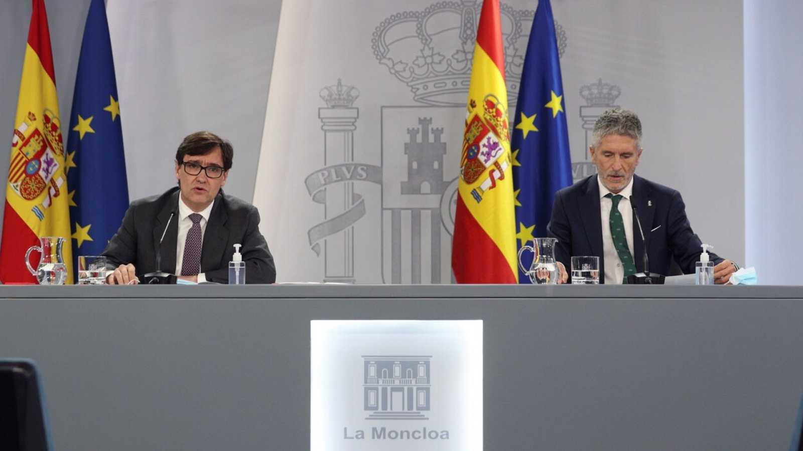 Especial informativo - Comparecencia de los ministros de Sanidad y de Interior - 09/10/20 - ver ahora