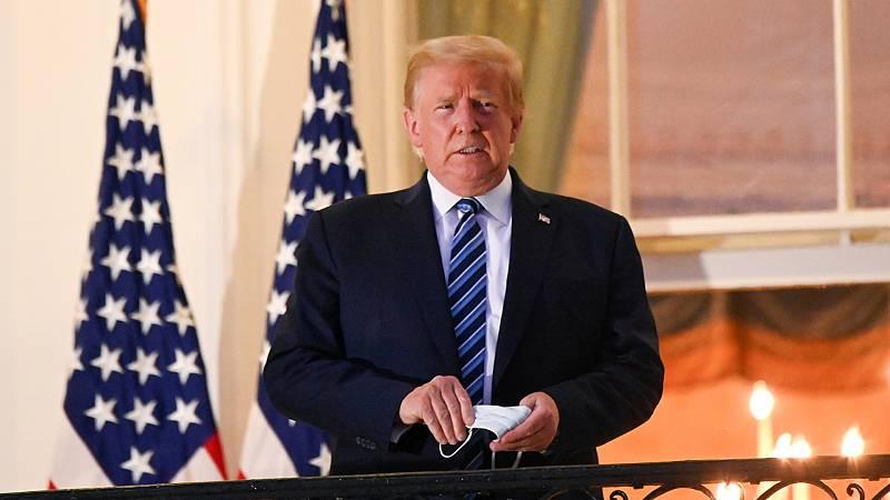 Trump retomará su campaña a pesar de las dudas sobre su salud