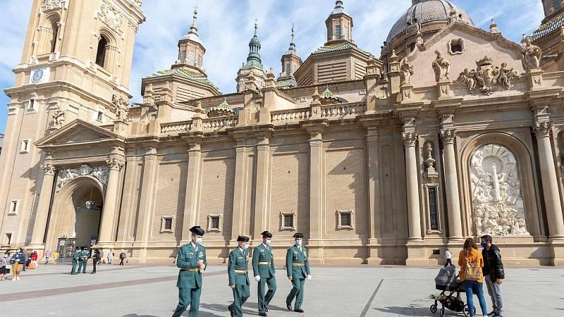 Zaragoza, sin fiestas de El Pilar