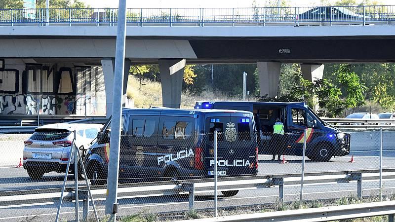 Controles en las salidas de Madrid en el segundo día de estado de alarma