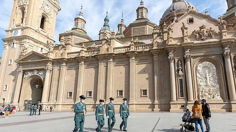 Zaragoza sufre por las restricciones en pleno puente del Pilar