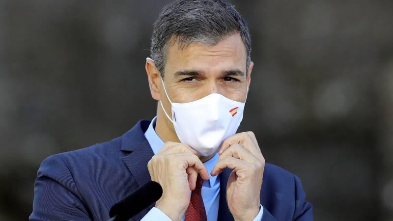 """Sánchez confía en que la pandemia en Madrid esté """"contenida"""" tras 15 días"""