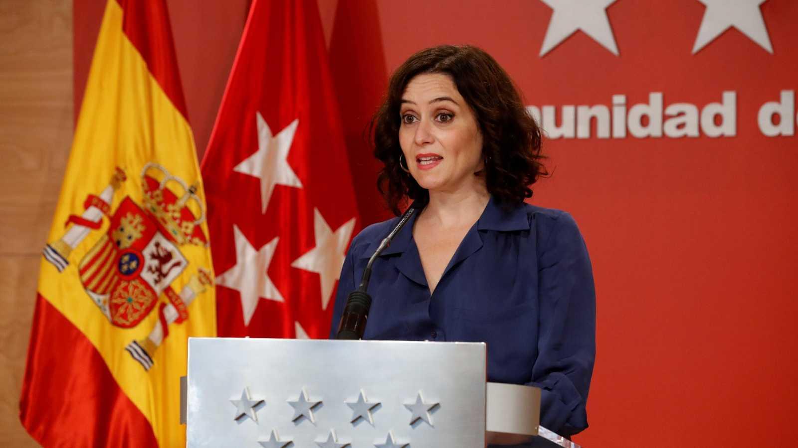 El Gobierno de Madrid pide que se levante el estado de alarma