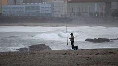 Chubascos fuertes en Baleares y el litoral catalán