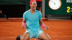 Nadal anula a Djokovic para lograr su 13º Roland Garros