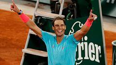 """Vídeo   Tablero deportivo - Rafa Nadal: """"Ha sido mi mejor final de Roland Garros"""""""