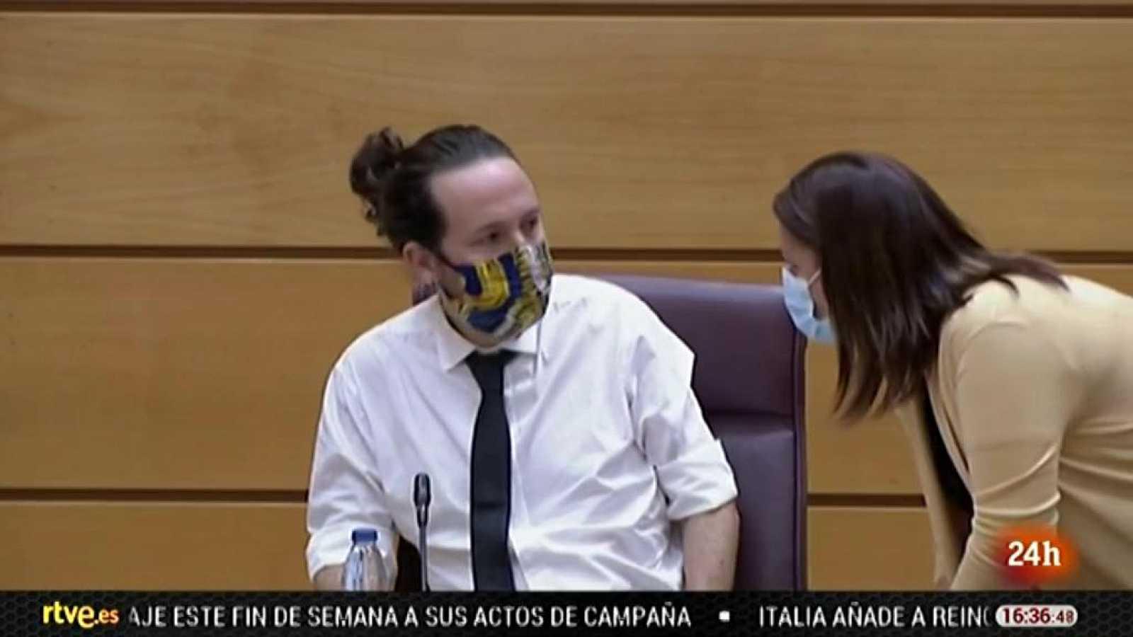 Parlamento - El foco parlamentario - El Supremo estudia investigar a Pablo Iglesias - 10/10/2020