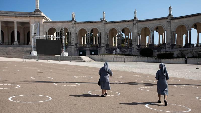 Reabre el santuario de Fátima con aforo reducido