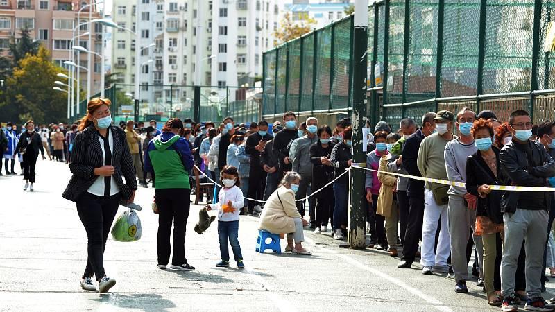 China realiza nueve millones de test en cinco días