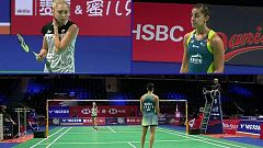 Bádminton - Danisa Denmark Open: Carolina Marín - Natalia Perminova
