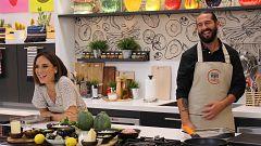 Cocina al punto con Peña y Tamara - Calabacín relleno de pollo y gratinado