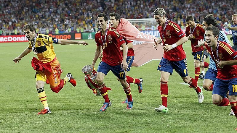 España vuelve al Olímpico de Kiev con el recuerdo de la Euro 2012