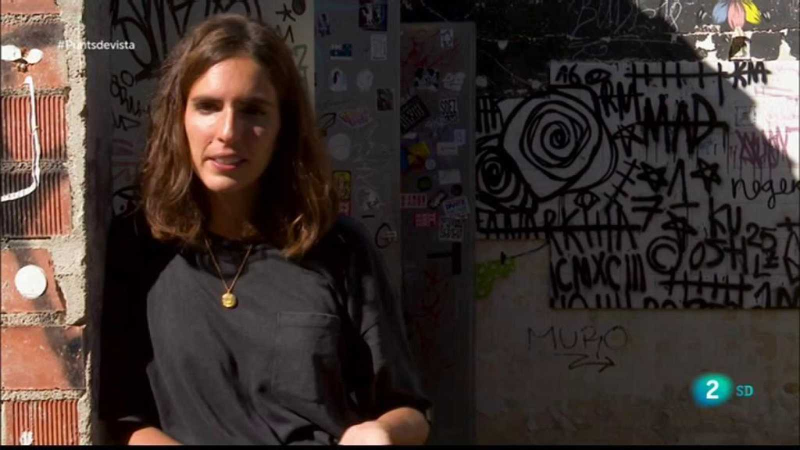 La il·lustradora Marina Capdevila a Punts de Vista