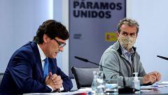 Especial informativo - Comparecencia del ministro de Sanidad y del director del CCAES - 13/10/20