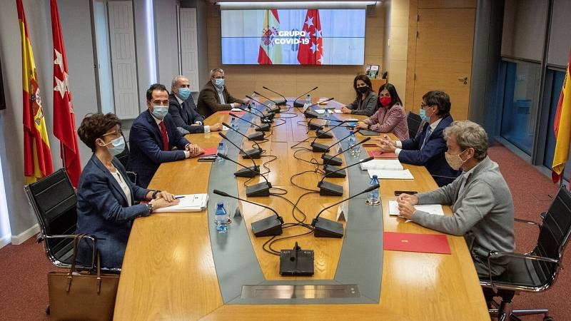 El Gobierno y la Comunidad de Madrid enfrentan posiciones en una nueva reunión del Grupo COVID-19