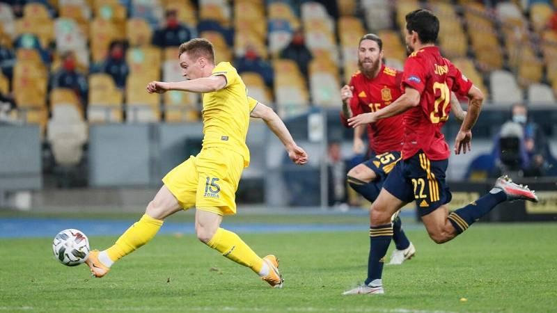 Tsygankov sorprende a España (1-0)