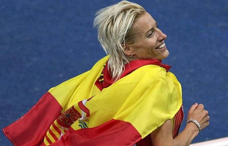 La palentina se ha proclamado campeona del mundo en los 3.000 metros obstáculos.