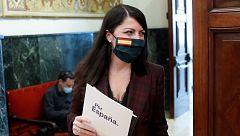 """Macarena Olona, sobre la moción de censura: """"Estamos dando un paso que es exigido por los españoles"""""""