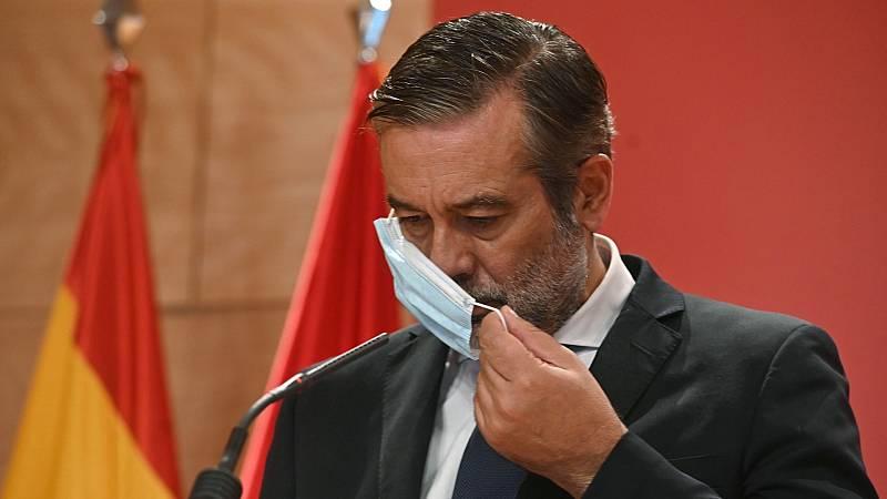 """Enrique López niega que estén ocultando datos para rebajar la curva de Madrid: """"Es una injuria"""""""