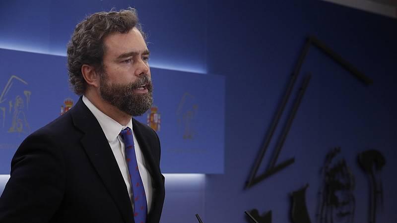 """Espinosa de los Monteros sobre el apoyo del PP a la moción de censura: """"Todavía no está muy claro, depende de a quién vamos escuchando"""""""