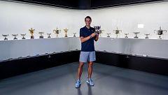 Nadal posa con sus 13 Roland Garros y manda un mensaje de ánimo a los afectados por el coronavirus