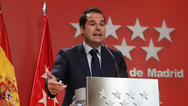 """Aguado, sobre el cierre de bares en Cataluña: """"Demandamos que haya una coordinación por parte del Gobierno de España"""""""