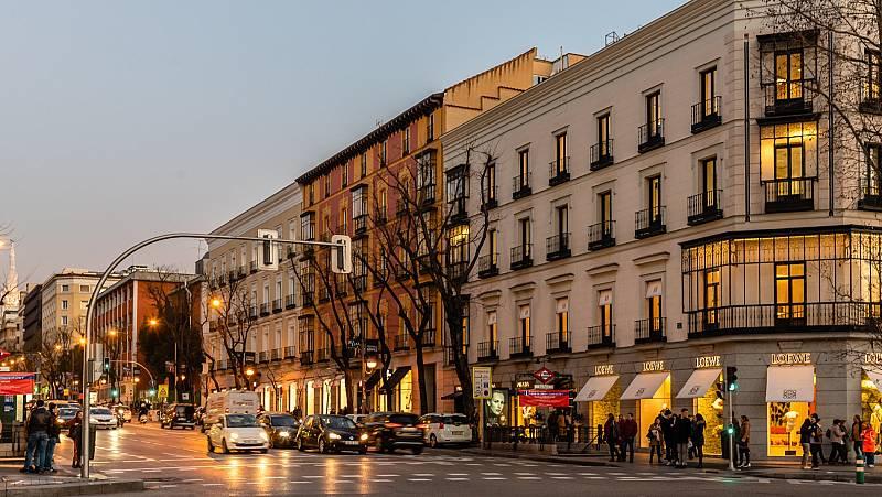 Detenidos cuatro miembros de una banda especializada por saqueos a tiendas de lujo en la 'milla de oro' de Madrid