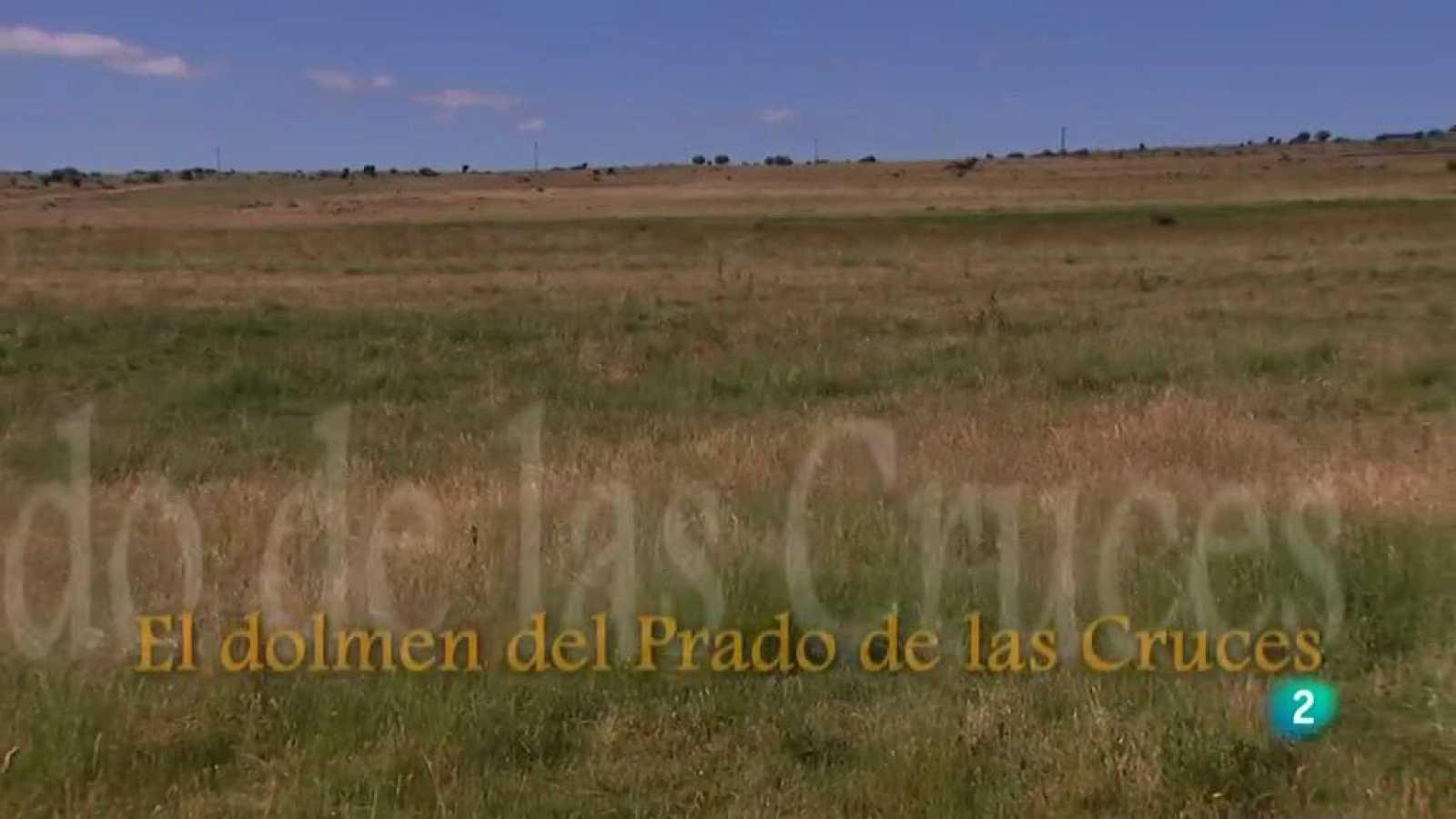 La aventura del saber El tunel del tiempo El Prado de las Cruces II Avila dolmen #AventuraSaberArqueología