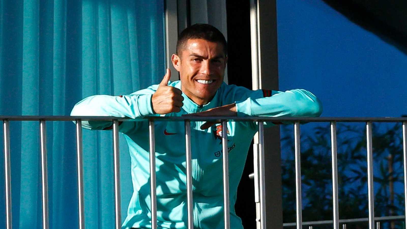 Cristiano Ronaldo cumple la cuarentena en Turín