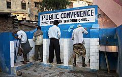 Para Todos La 2-Baños públicos incentivados en la India
