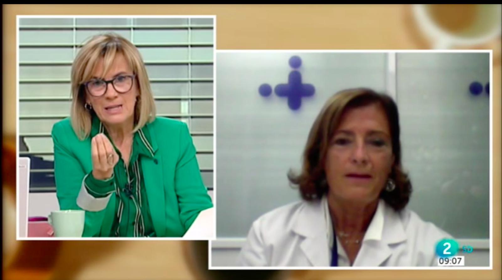 Cafè d'idees - Entrevista a Magda Campins, cap d'Epidemiologia de l'Hospital de la Vall d'Hebron