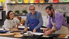 Cocina al punto con Peña y Tamara - Pechugas en escabeche de mango