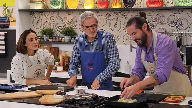 Cocina al punto con Peña y Tamara - Pechugas en escabeche de mango - ver ahora