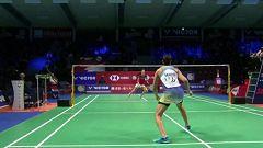 Bádminton - Danisa Denmark Open. 1/16 Final: C. Marín - L. Christophersen