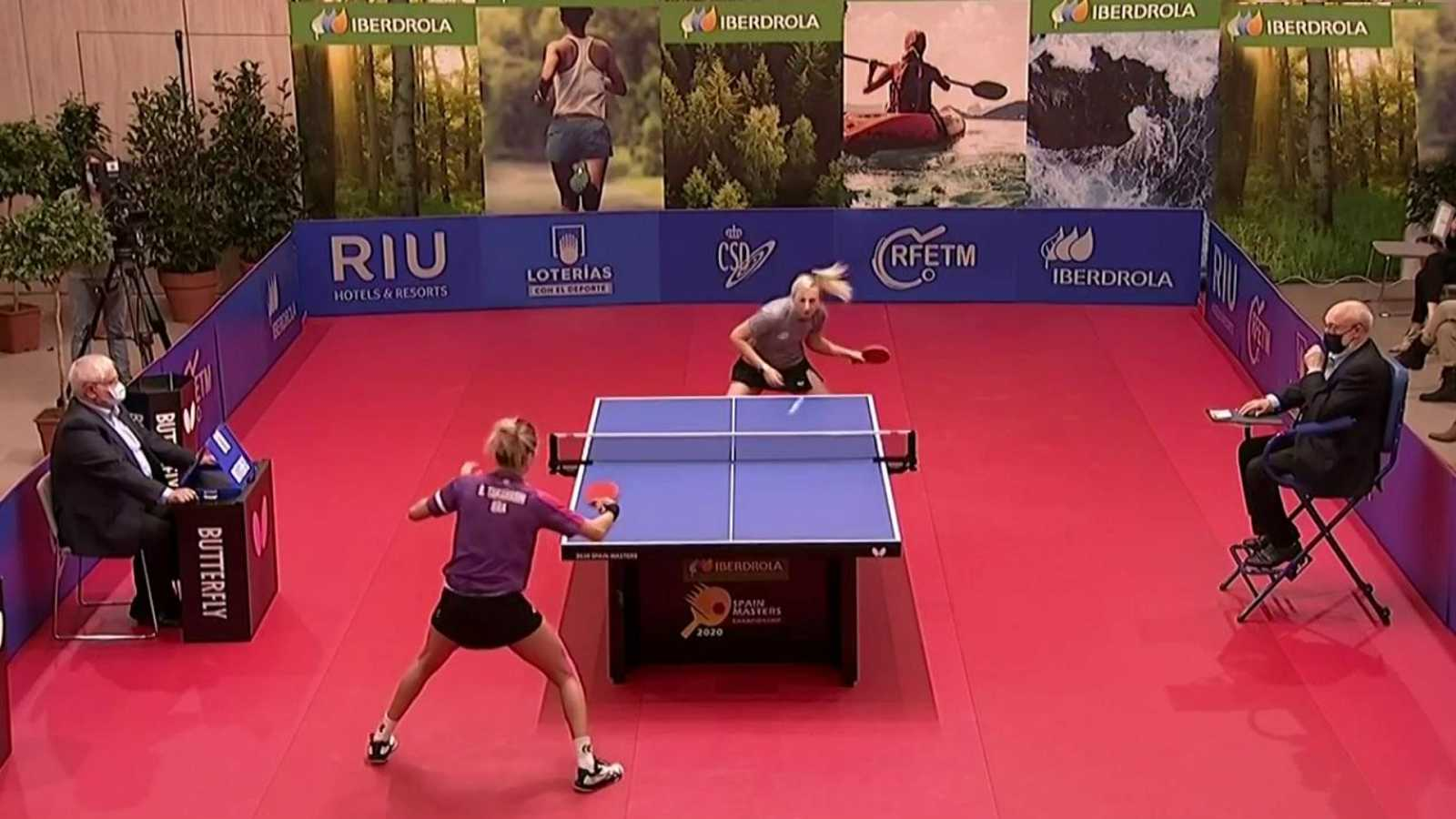 Tenis de mesa - Master internacional masculino y femenino. Finales - ver ahora