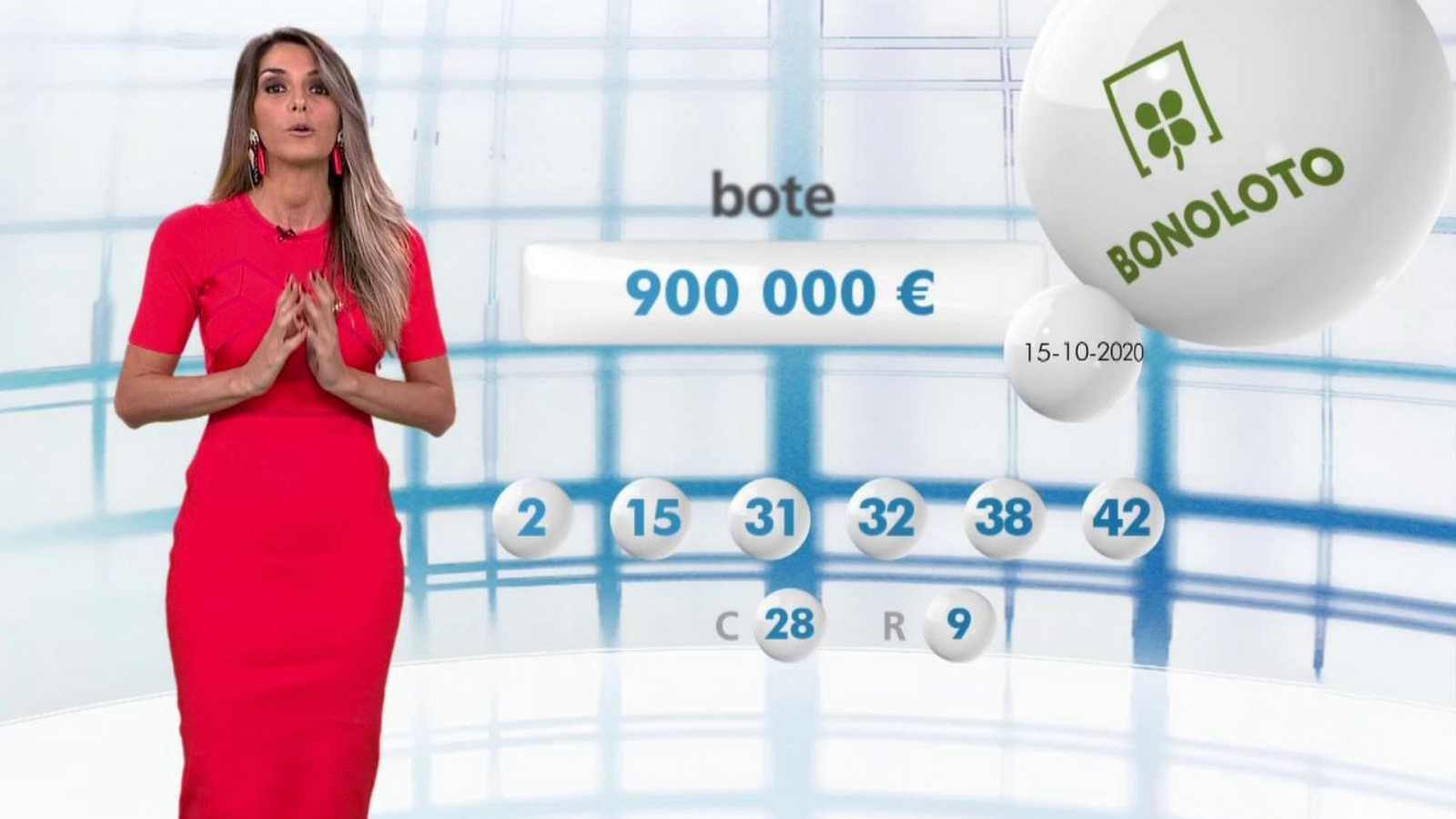 Lotería Nacional + La Primitiva + Bonoloto - 15/10/20 - ver ahora