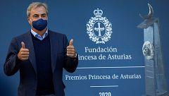 """Sainz: """"No sé si calificar como una victoria el Princesa de Asturias, pero sí es un gran orgullo"""""""