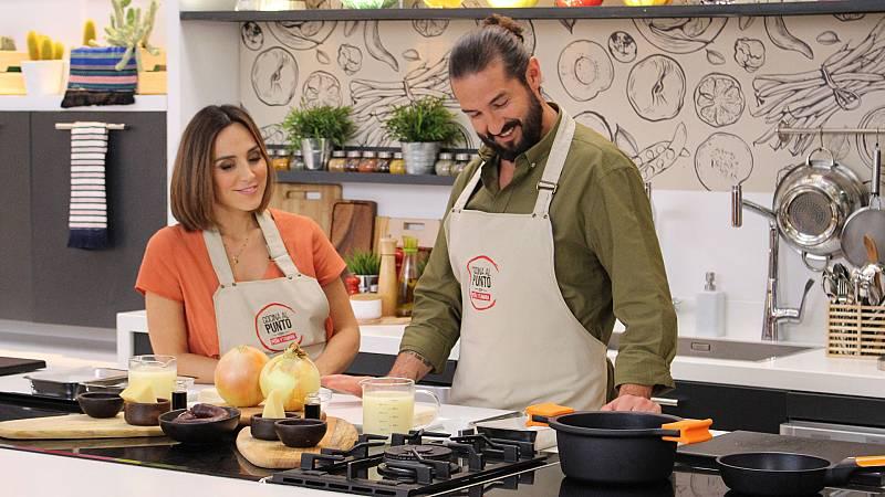 Cocina al punto con Peña y Tamara - Sopa de cebolla - ver ahora