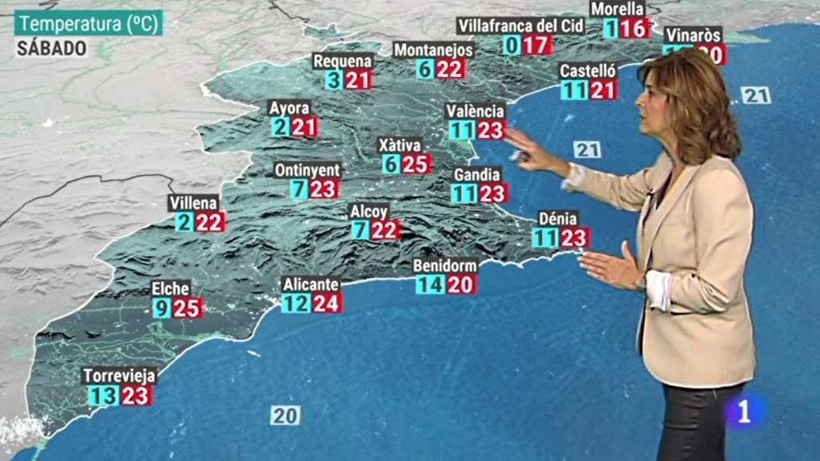 El tiempo en la Comunidad Valenciana - 16/10/20 - ver ahora