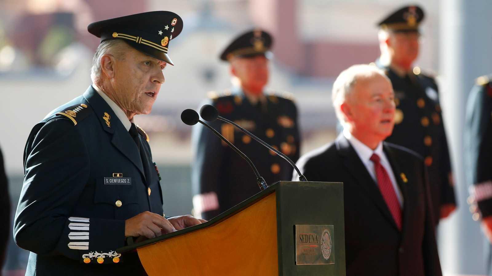 Detenido en EE.UU. el exjefe militar de Peña Nieto por narcotráfico