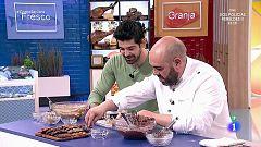 Alejandro Montes nos enseña a hacer cookies de chocolate