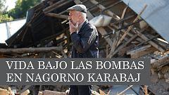 La guerra desde dentro: testimonios bajo las bombas en Nagorno-Karabaj