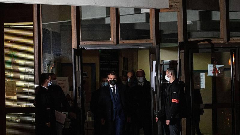Francia investiga como acto terrorista la decapitación de un profesor en plena calle