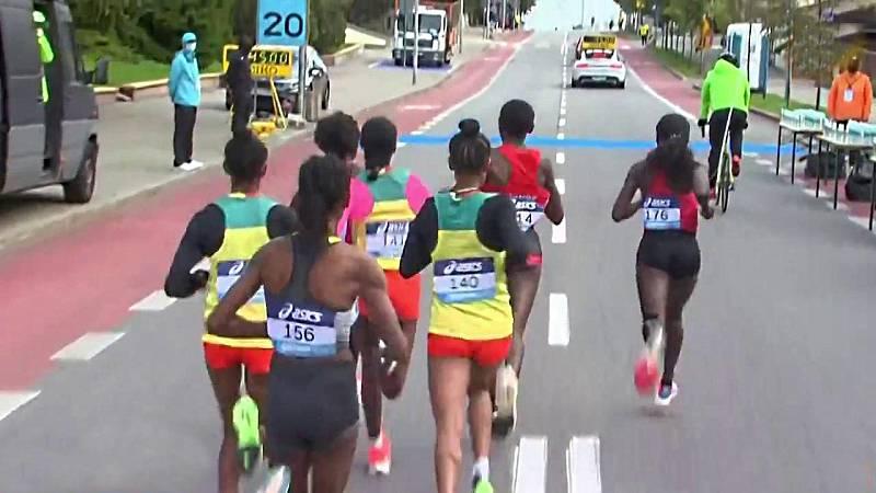 Atletismo - Campeonato del Mundo. Medio maratón carrera femenina - ver ahora