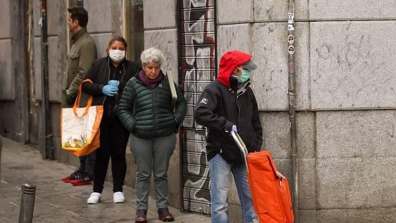 La pandemia agudiza la pobreza en España