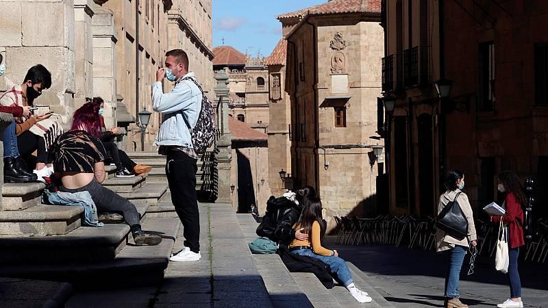 Coronavirus: Salamanca, tercera capital confinada en Castilla y León