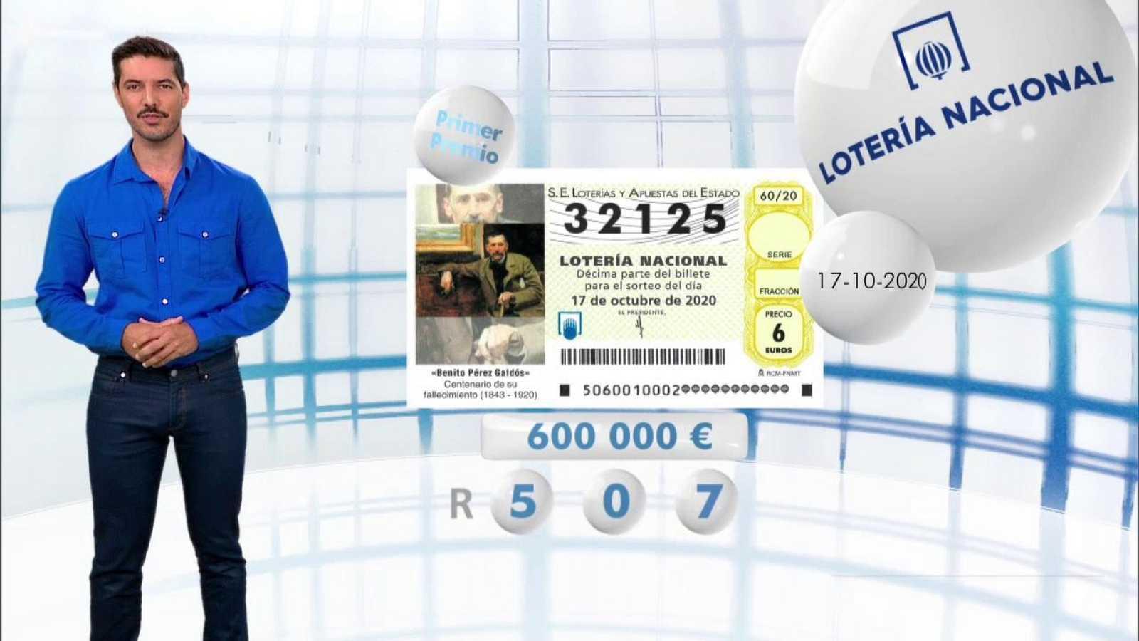 Lotería Nacional - 17/10/20 - ver ahora