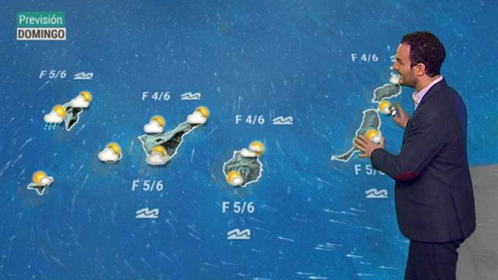 El tiempo en Canarias - 18/10/2020