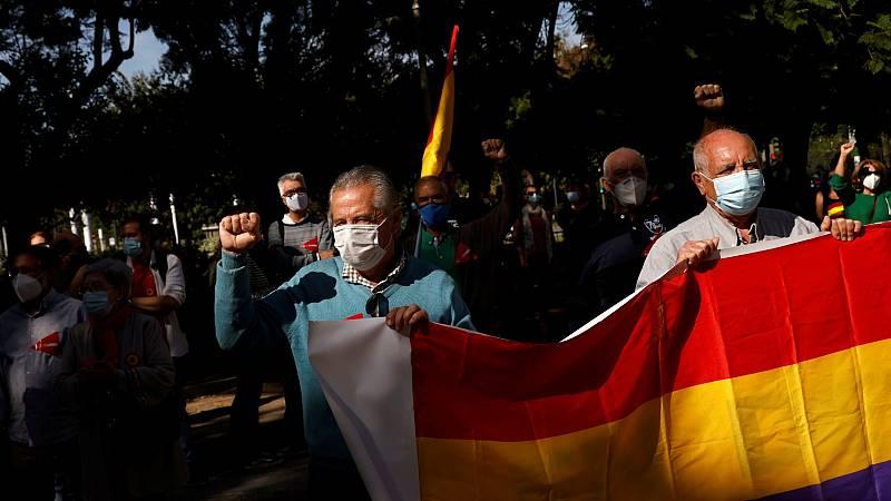 Varias manifestaciones republicanas pide una alternativa a la monarquía y un referéndum